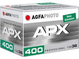 AGFAPHOTO APX Pan 400 135 36 Schwarzweiss Fotofilm