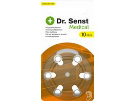 Dr Senst Medical Hoergeraetebatterie Typ ZA10