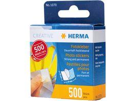 HERMA Fotokleber im Kartonspender 500 Stueck