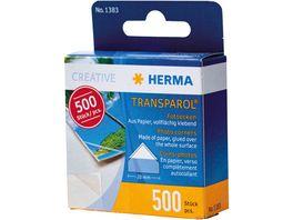 HERMA Transparol Fotoecken Spendepackung 500 Stueck
