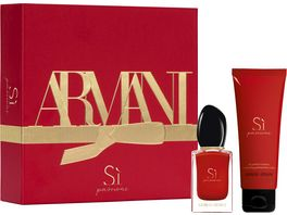 GIORGIO ARMANI Si Passione Eau de Parfum Body Lotion Geschenkset
