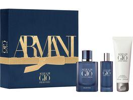 GIORGIO ARMANI Acqua di Gio Profondo Eau de Parfum Geschenkset