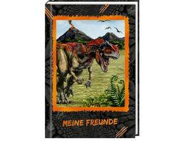 Die Spiegelburg Freundebuch T Rex World Meine Freunde mit 3D Bild mit 3D Bild