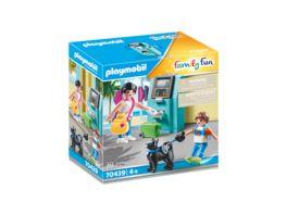 PLAYMOBIL 70439 Family Fun Urlauber mit Geldautomat