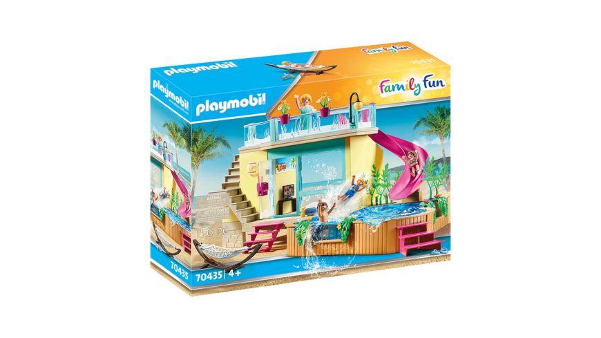 PLAYMOBIL 70435 Family Fun Bungalow mit Pool