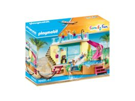 PLAYMOBIL 70435 Family Fun Bungalow mit Pool