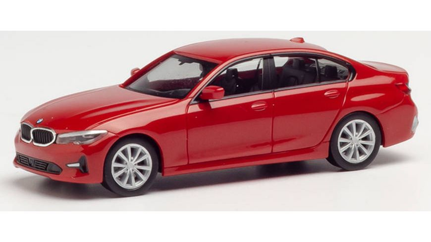 Herpa 430791 BMW 3er Limousine Melbourne rot metallic