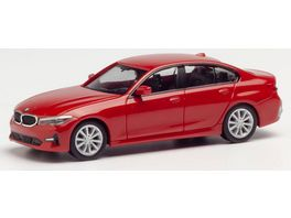 Herpa 430791 BMW 3er Limousine Melbourne rot metallic