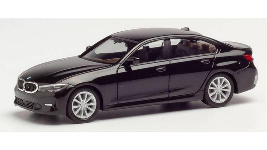 Herpa 420518 - BMW 3er Limousine, schwarz