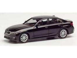 Herpa 420518 BMW 3er Limousine schwarz