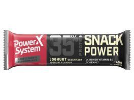POWER SYSTEM Proteinriegel Joghurt