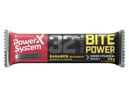 POWER SYSTEM Proteinriegel Banane