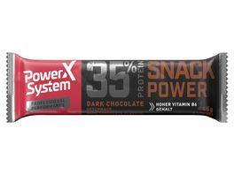 POWER SYSTEM Proteinriegel Dark Chocolate