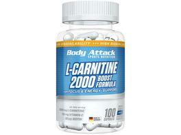 Body Attack L Carnitine 2000