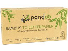 pandoo Bambus Toilettenpapier