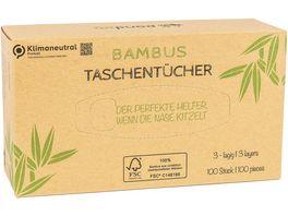 pandoo Bambus Taschentuecher