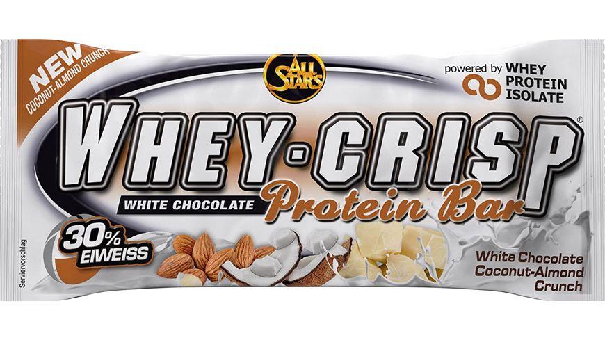 All Stars Whey-Crisp Bar White Chocolate Coconut-Almond Crunch