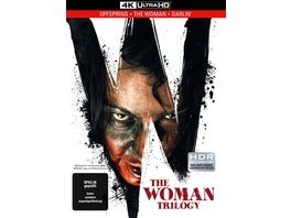 The Woman Trilogy 3 Disc Limited Collector s Edition im UHD Mediabook Uncut 4K Ultra HD UHD
