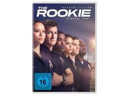 The Rookie Staffel 2 5 DVDs