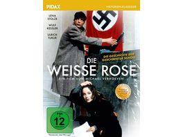 Die weisse Rose Preisgekroente Verfilmung ueber die Geschichte der Geschwister Scholl Pidax Historien Klassiker