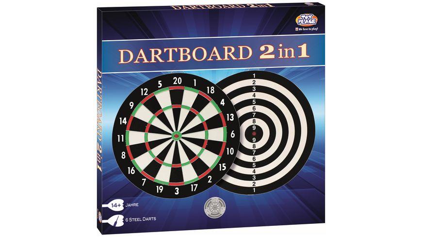 Mueller Toy Place Dartboard 2 in 1