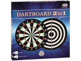 Mueller Toy Place Dartboard 2 in 1