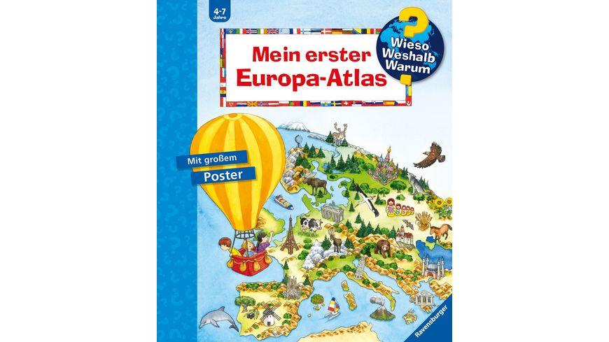 Wieso? Weshalb? Warum? - Mein erster Europa-Atlas