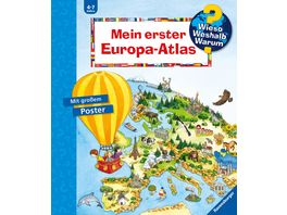 Wieso Weshalb Warum Mein erster Europa Atlas