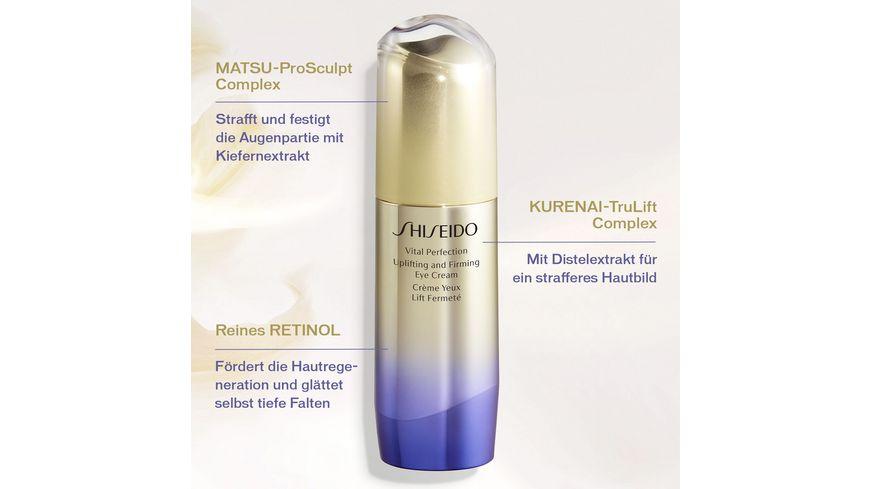 SHISEIDO Vital Perfection Uplifting and Firming Eye Cream