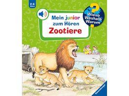 Wieso Weshalb Warum Zootiere
