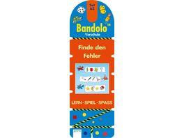 Finde den Fehler Bandolo Set 63