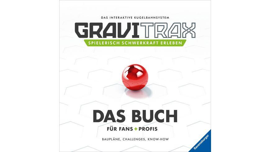Ravensburger Beschaeftigung GraviTrax Das Buch fuer Fans und Profis Bauplaene Challenges Know How