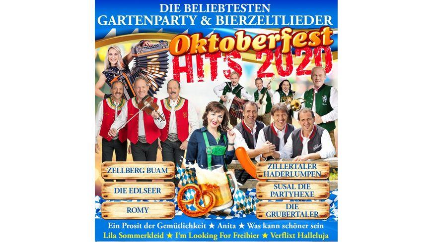 Oktoberfest Hits 2020 Gartenparty Bierzeltlied