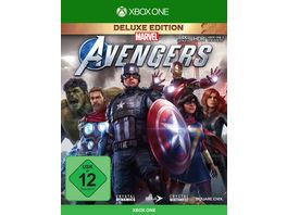 Marvel Avengers Deluxe Edition