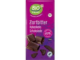 BIO PRIMO Bio Zartbitter Schokolade mit Kakaokeks