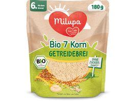 Milupa Beikost 7 Korn Bio Getreidebrei ab dem 6 Monat