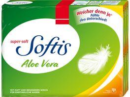SoftisTaschentuecher Aloe Vera Taschentuecher 30er 4 lagig