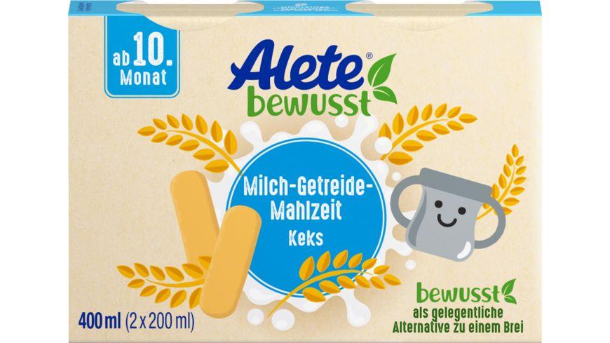 Alete Beikost Milch-Getreide-Mahlzeit Keks zum Trinken