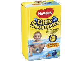HUGGIES Schwimmwindel Little Swimmers Groesse 5 6 12 18 kg