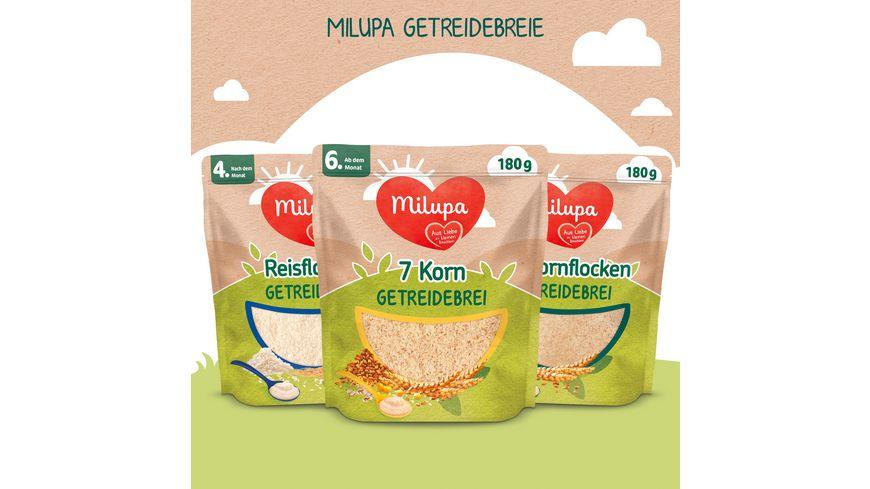 Milupa Reisflocken Bio Getreidebrei ab dem 4 Monat
