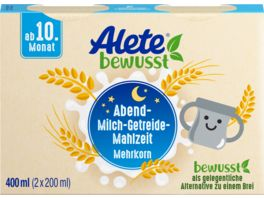 Alete Beikost Abend Milch Getreide Mahlzeit Mehrkorn zum Trinken