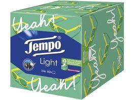 TEMPO TASCHENTUeCHER LIGHT BOX 60 TUeCHER DESIGN EDITION
