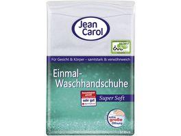 Jean Carol Einmal Waschhandschuhe Super Soft