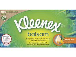 KLEENEX BALSAM Taschentuch BOX 4lg 60T