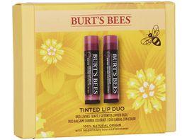 BURT S BEES Tinted Lip Balm Duo