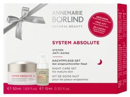 ANNEMARIE BOeRLIND SYSTEM ABSOLUTE Regenerierende Nachtcreme Beauty Fluid