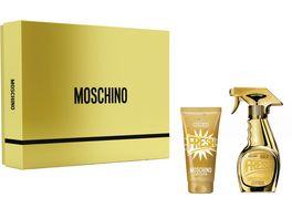MOSCHINO Fresh Couture Gold Eau de Parfum Body Lotion Set