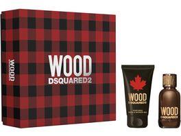 DSQUARED Wood Pour Homme Set Eau de Toilette Duschgel