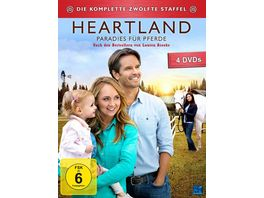 Heartland Paradies fuer Pferde Staffel 12 4 DVDs