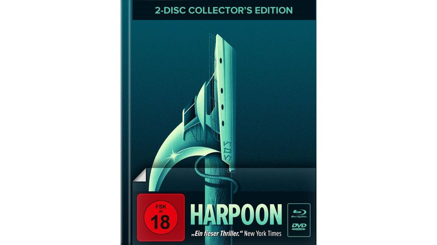 Harpoon Mediabook Cover A DVD